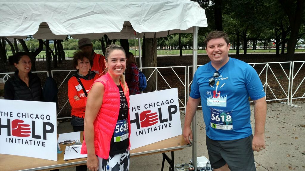 Chi Run Mag Mile Volunteers